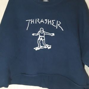 Thrasher cut off shirt